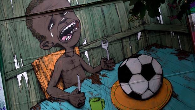 Need foot, not football, by Paulo Ito. Cliquez sur l'image pour le lien vers une source.